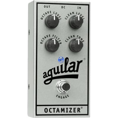 Aguilar Octamizer (Silver 25th Anniversary Limited Edition) Bass Octaver for sale
