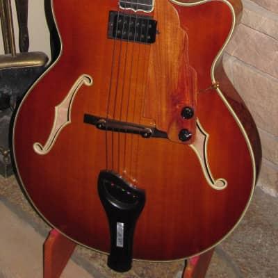 "Koll, Custom Designed 16"" carved archtop jazz guitar   2003 Antique Violin Gloss for sale"