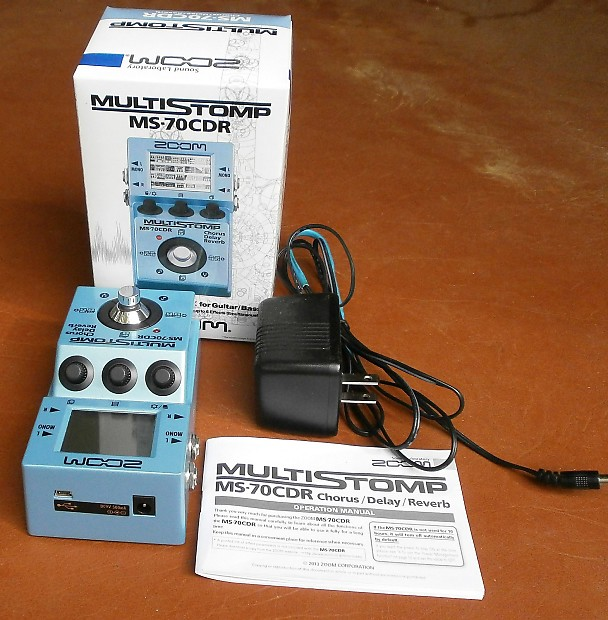 zoom ms 70cdr with dc power supply perfect free shipping reverb. Black Bedroom Furniture Sets. Home Design Ideas