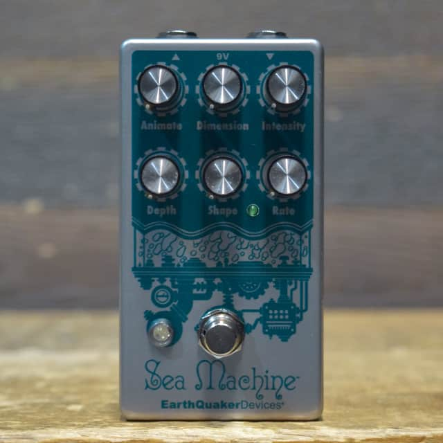 EarthQuaker Devices Sea Machine V3 Super Chorus Electric Guitar Effect Pedal image