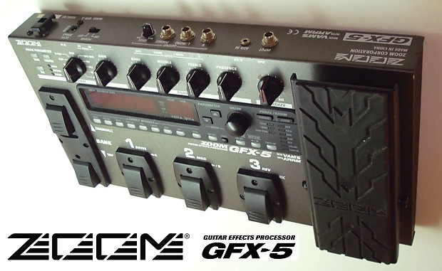Zoom GFX-5 Multi-Effects Guitar Pedal | fredster9