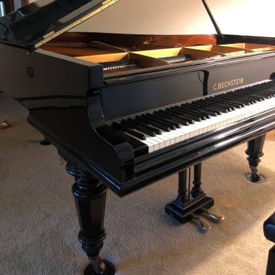 """1921 Bechstein B Grand Piano 6'8"""" Impressive condition"""