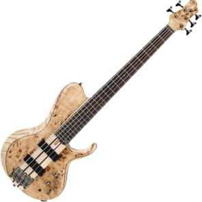Ibanez BTB845SC-NTL BTB Bass Workshop 800 Series Poplar Burl Top 5-String Electric Bass Natural Low Gloss