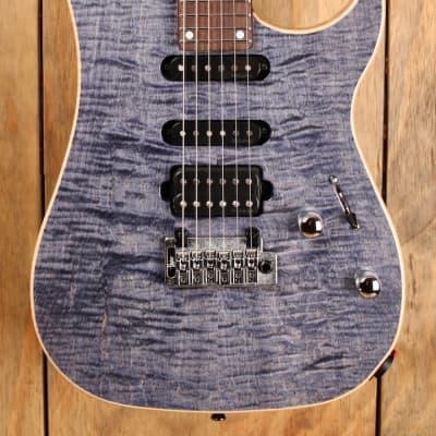 Vigier Excalibur Ultra Blues HSS Tremolo Light Sapphire for sale