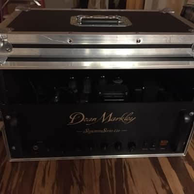 Dean Markley Signature Series 120 Tube Guitar Amp Head Serviced & Ready With Road Case for sale