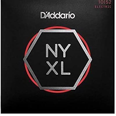 D'Addario NYXL1052 Nickel Wound Electric Guitar Strings 10-52