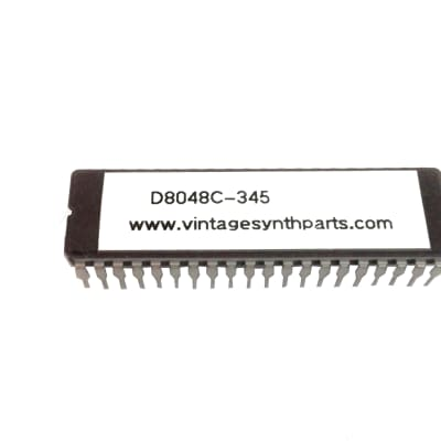 NEC D8048C-345 Mask Rom Cpu for Korg Polysix and Trident MK2 D8048-345
