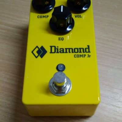 Diamond Comp Jr. Compact Optical Compressor Pedal w/ Original box & paperwork