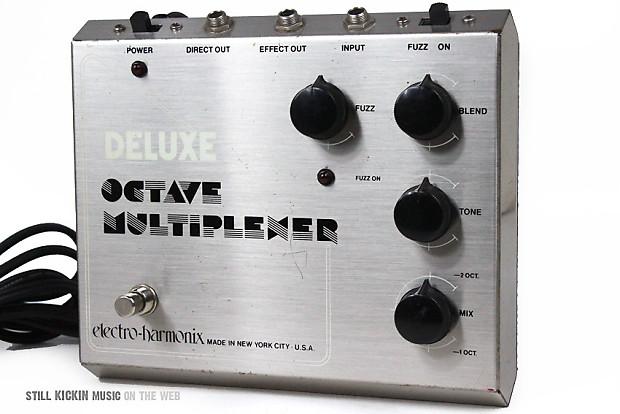 electro harmonix deluxe octave multiplexer vintage 70s eh reverb. Black Bedroom Furniture Sets. Home Design Ideas