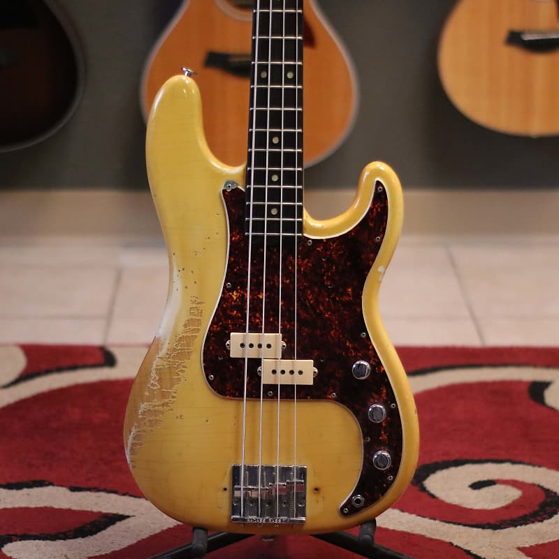 player grade vintage 1969 fender precision bass w ohsc reverb. Black Bedroom Furniture Sets. Home Design Ideas