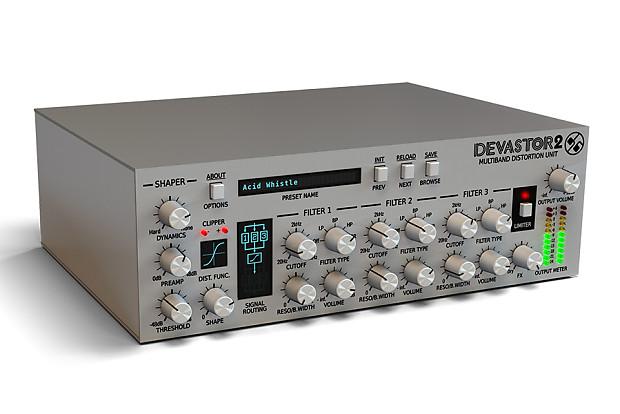 D16 Group Devastor 2 Multiband Distortion Unit