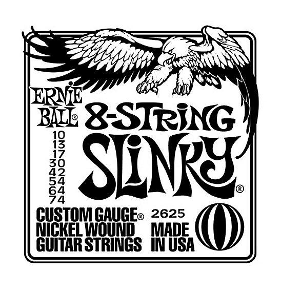 Gauge 10-52 Ernie Ball Cobalt STHB SlinkyElectric Guitar Strings