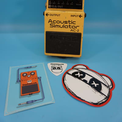 Boss AC-2 Acoustic Simulator Pedal | Fast Shipping!