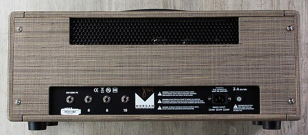 morgan sw50r 50w high headroom class ab tube amp guitar reverb. Black Bedroom Furniture Sets. Home Design Ideas