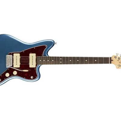 Fender American Performer Jazzmaster Electric Guitar (Satin Lake Placid Blue) (Used/Mint)