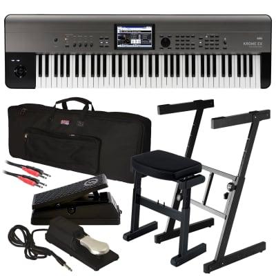 Korg Krome EX 73 Music Workstation - Stage Rig
