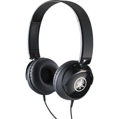 Yamaha HPH-50B Compact Stereo Headphones Black