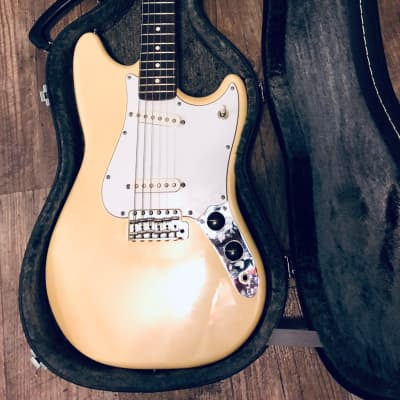 Fender Cyclone - Rare Vintage White w/ Upgrades for sale