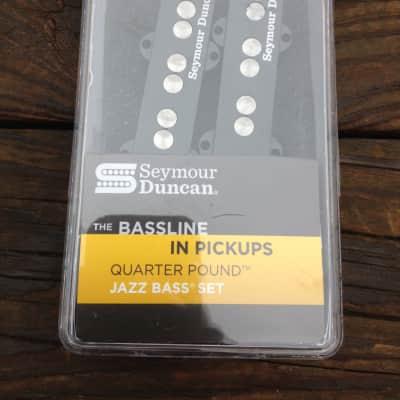 Seymour Duncan Quarter Pound SJB-3 Jazz Bass Neck & Bridge Pickup Set Fender
