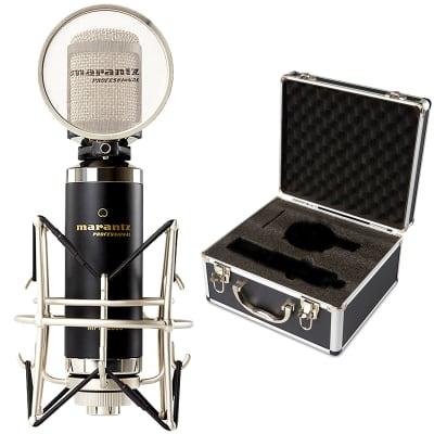 Marantz MPM-2000 Podcast Broadcast Studio Recording Condenser Vocal Microphone