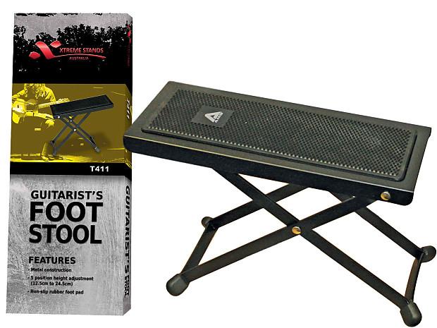Swell Xtreme T411 Guitar Foot Stool Guitarist Footstool Heavy Duty Rest Creativecarmelina Interior Chair Design Creativecarmelinacom