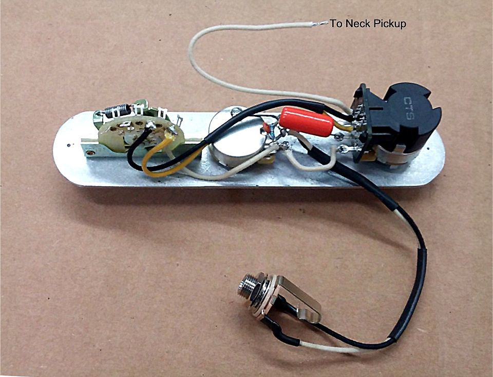 Atlantic Custom Guitars Telecaster 5 Way 3 Pickup 7 Sound Wiring