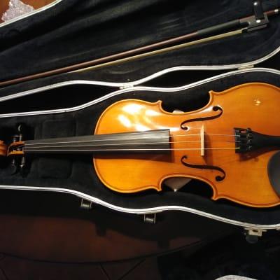 Ebony with Standard Bracket Strobel All-Size Viola Chinrest