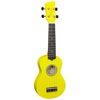 Brunswick Soprano Ukulele - Gloss Yellow for sale