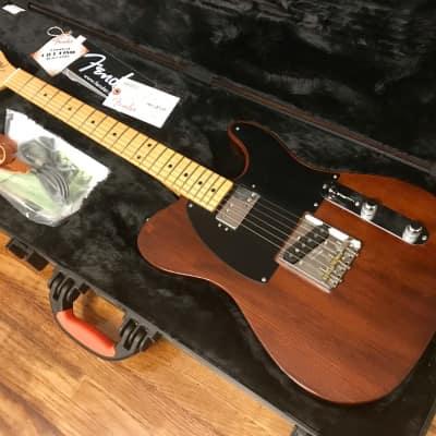 MINT 2015 Fender Limited Edition American Vintage Hot Rod 50's Reclaimed Redwood Telecaster - 6lb 4oz