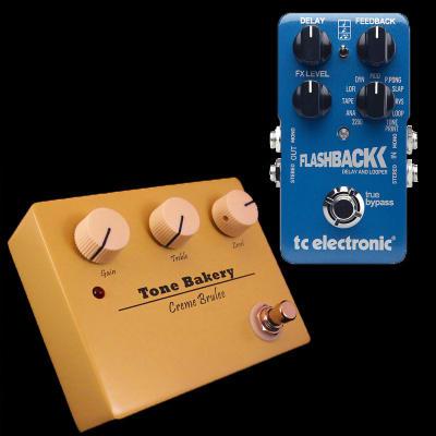 TC Electronic Flashback Delay + Tone Bakery Creme Brulee Pedal Combo