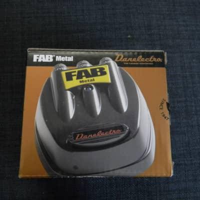 Danelectro Fab Metal D3  Black Distortion Pedal Brand New Authorized Dealer ! for sale
