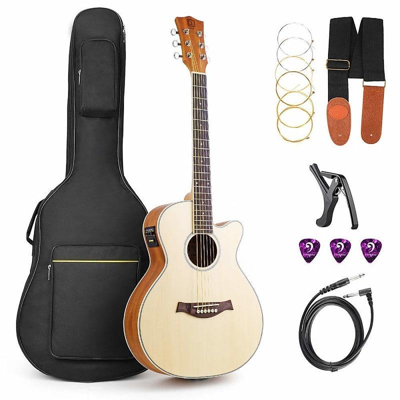 acoustic guitar cutaway acoustic guitar electric 36 inch 3 4 reverb. Black Bedroom Furniture Sets. Home Design Ideas