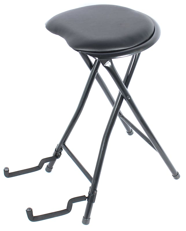 Excellent Farleys Nick Vails Stage Player Folding Guitar Stand And Stool Seat Squirreltailoven Fun Painted Chair Ideas Images Squirreltailovenorg