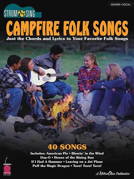 Campfire Folk Songs Chordslyrics My Music Life Reverb