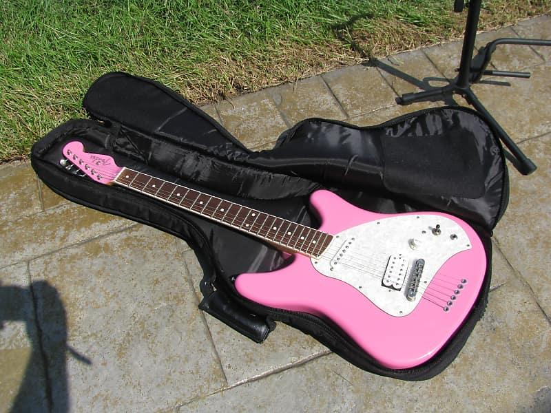Ultra Rare Early Fender Labeled 1996 97 Pink Venus Guitar Reverb
