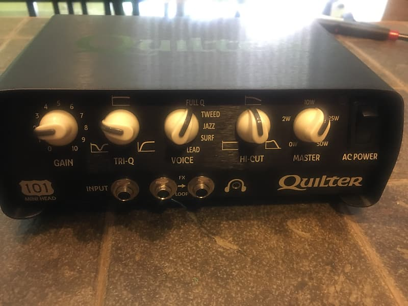 quilter 101 mini guitar amplifier head stu 39 s pedal reverb. Black Bedroom Furniture Sets. Home Design Ideas
