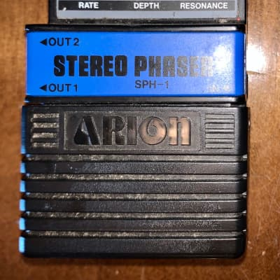 Arion SPH-1 Stereo Phaser analog guitar effects pedal for sale