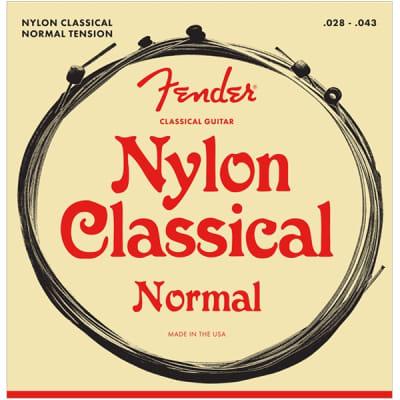 Fender 130 Classical Nylon Acoustic Guitar Strings - Ball End, 28-43 for sale
