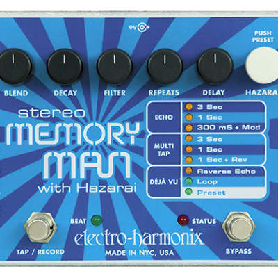 Electro Harmonix Stereo Memory Man with Hazari for sale