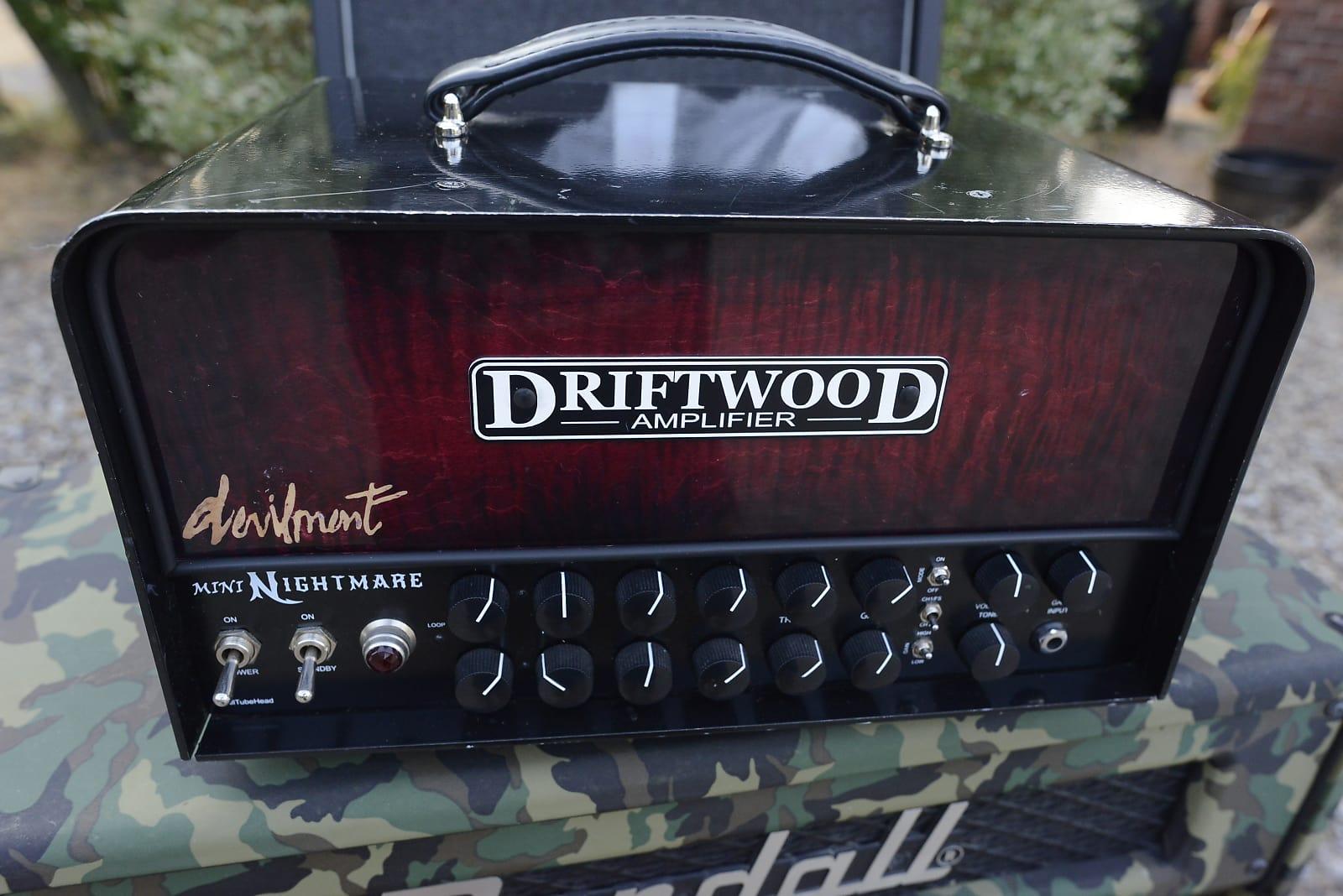 driftwood devilment artist endorsed custom mini nightmare 50 watt boutique guitar amp amplifier head. Black Bedroom Furniture Sets. Home Design Ideas