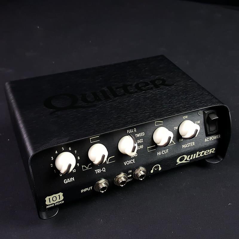 quilter 101 mini guitar amplifier head reverb. Black Bedroom Furniture Sets. Home Design Ideas
