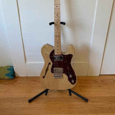 Fender Classic Series '72 Telecaster Thinline with Hard Shell Case for sale