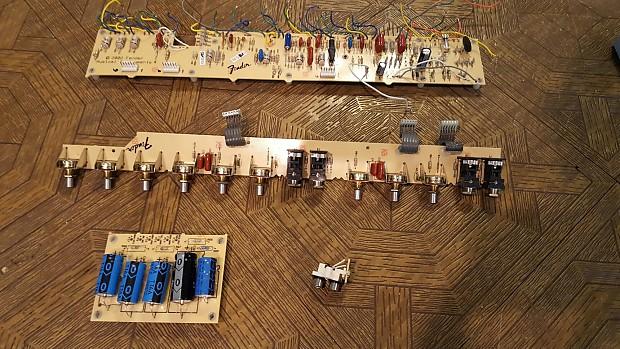 Fender Deluxe Reverb Reissue Circuit Boards