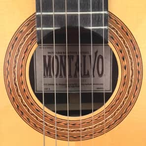 Casa Montalvo Klepper Model Classical Guitar 2005 for sale