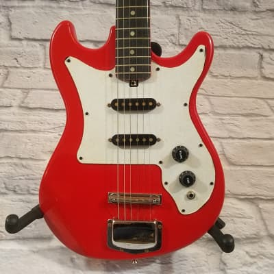 Rogue / Harmony Red Electric Guitar - New Old Stock for sale