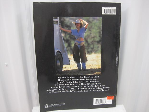 Shania Twain The Woman In Me Sheet Music Song Book Piano Reverb