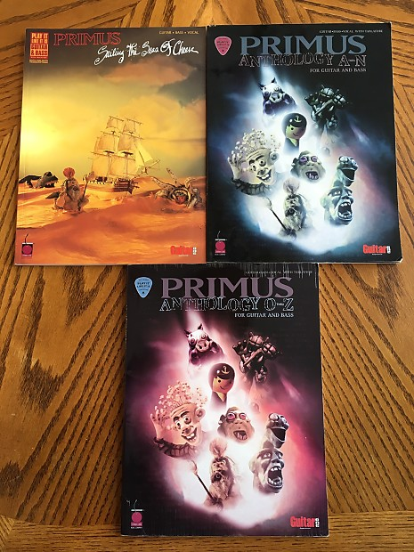 Primus Anthology Sheet Music Lot | Collect Eclectic