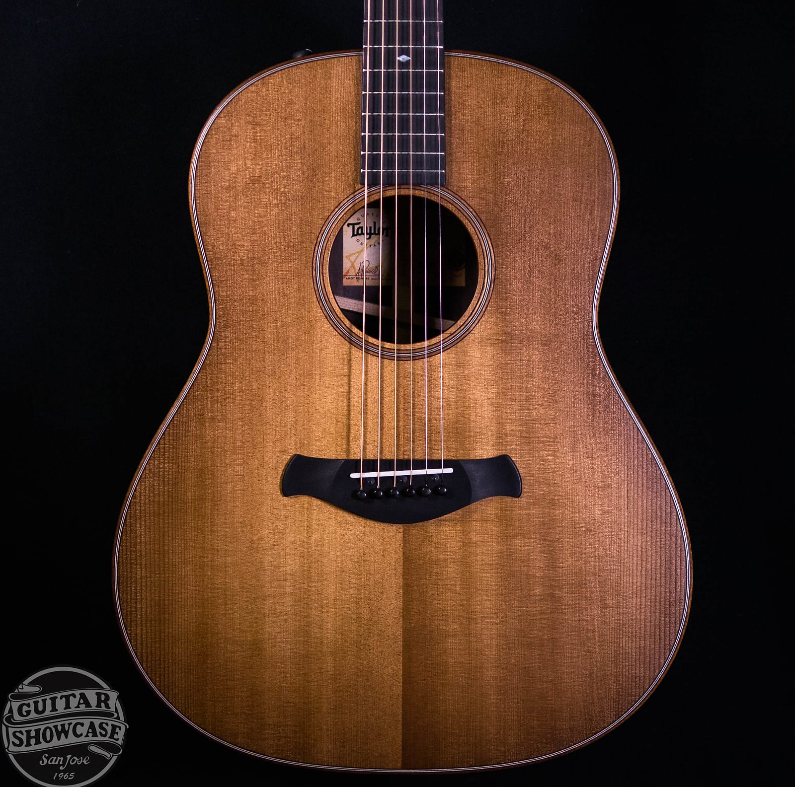 Taylor Builder's Edition 717e WHB Torrefied Sitka Spruce / Rosewood Wild Honey Burst