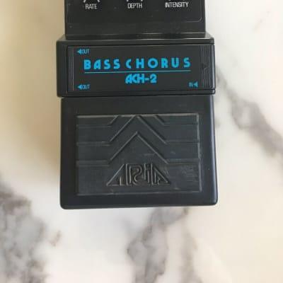 Aria ACH-2 Bass Stereo Analog Chorus Rare Vintage Guitar Effect Pedal MIJ Japan