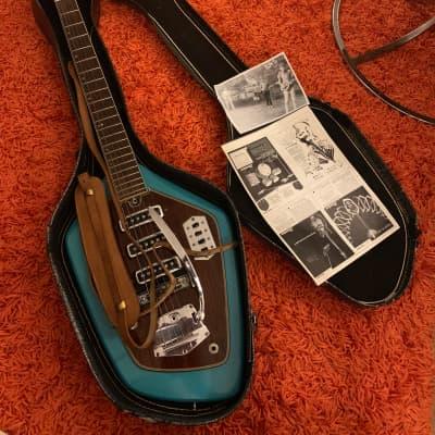 Domino Californian/phantom 1960s Blue TONS OF PHOTOS for sale